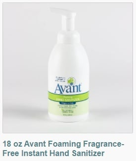 18 oz Avant Foaming Hand Sanitizer