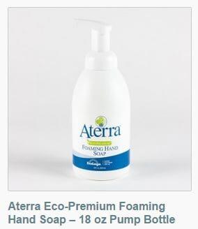 Aterra Eco-Premium Hand Soap. Available in bulk quantities.