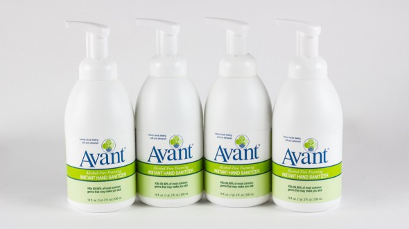 Alcohol-free hand sanitizers, Available in bulk quantities.