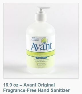 Avant Original hand sanitizer 16.9 oz