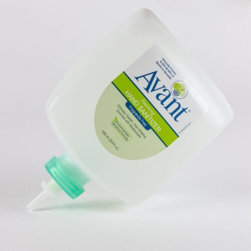 1000 mL Eco-Flex refills of Avant Original fragrance-free instant hand sanitizer