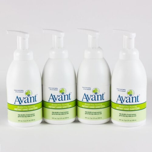 Avant Alcohol-free hand sanitizer