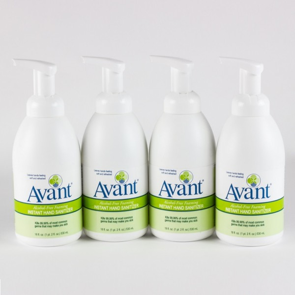 Avant Alcohol-free hand sanitizer