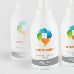 Private label lotion, soap and hand sanitizer