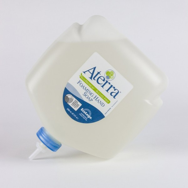 Aterra Eco-Premium sulfate-free foaming hand soap, 1950 mL Eco-flex refill