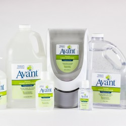 Avant Hand Sanitizer - bulk sizes and quantities