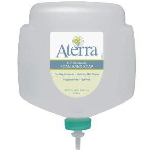 Aterra E-2 Sanitizing Foam Hand Soap, 1950 mL dispenser refill