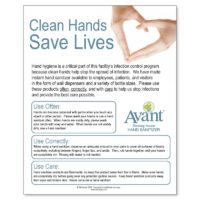 Clean Hands Saves Lives poster