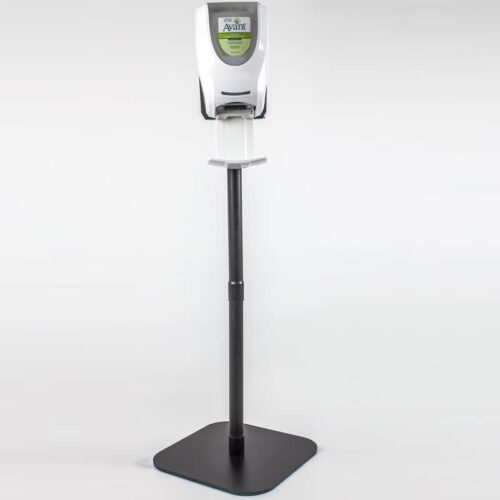 Mobile hand sanitizer stand