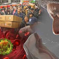 Germs are prevalent at malls during Christmas season
