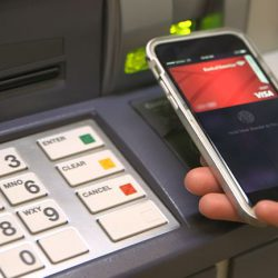 Cell phones and ATM machines are two of the germ-infested places