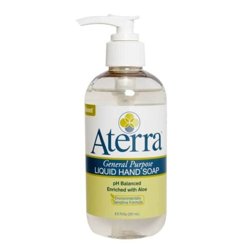 8.5 oz Aterra General Purpose Liquid Hand Soap