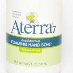 Aterra 7 - Triclosan-free foaming hand soap
