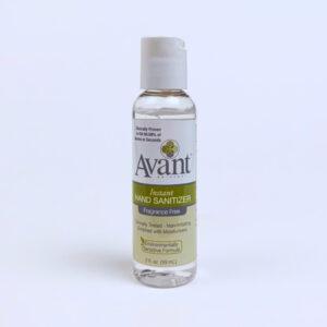 Avant Fragrance Free Hand Sanitizer, 2 ounce bottle